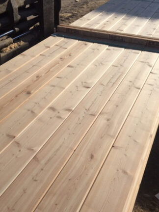 kermode forest products decking larch sound and tight knot decking 2