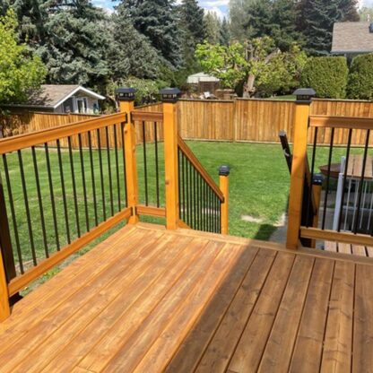 kermode forest products decking larch sound and tight knot decking 3