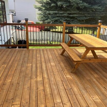 kermode forest products decking larch sound and tight knot decking